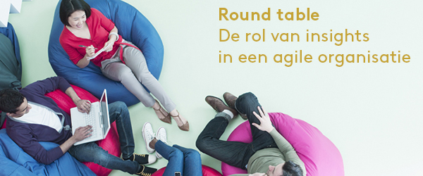round table over insights in een agile research organisatie
