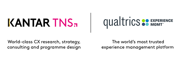 Kantar TNS Qualtrics wereldwijde customer experience partner